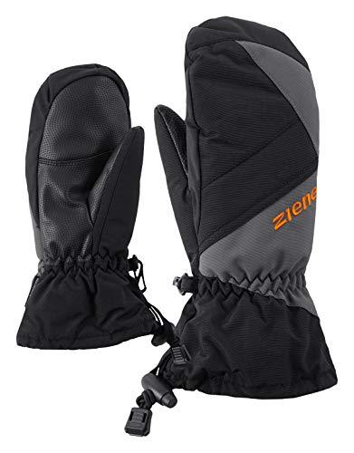 Ziener Kinder Agilo As(r) Mitten Ski-handschuhe, black.magnet, 4