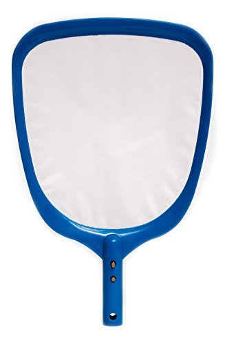 SharkBlu Pool Skimmer Net Attachment - 2.0 Gold Edition Swimming Pool Cleaning Leaf Skim Net - Pole Not Included