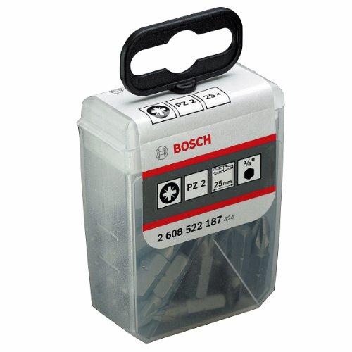 Bosch 2608522187 Embout de vissage qualité extra-dure pz 2 25 mm