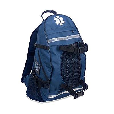 Arsenal 5243 First Responder Trauma EMT First Aid Backpack, Blue by Ergodyne