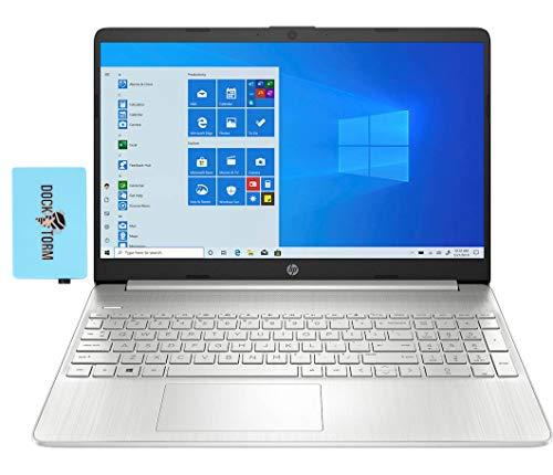 "HP 15 - ef1010nr nt Home and Business Laptop (AMD Athlon Gold 3150U 2-Core, 8GB RAM, 128GB SSD, AMD Radeon, 15.6"" HD (1366x768), WiFi, Bluetooth, Webcam, 2xUSB 3.0, 1xHDMI, Win 10 Home) with Hub"