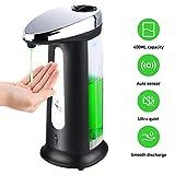 USLION Automatic Sensor Soap & Sanitizer Dispenser Touch-free Kitchen Bathroom 400ML