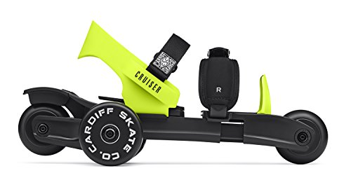 Cardiff Skate Co. Youth Cruiser Skates, Lime