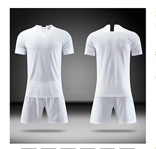 XIAOL Blank voetbal jersey 2019 trainingspak voetbal trainingspak voetbal jersey shorts sportswear gebruikergedefinieerd voetbal jersey trainingspak