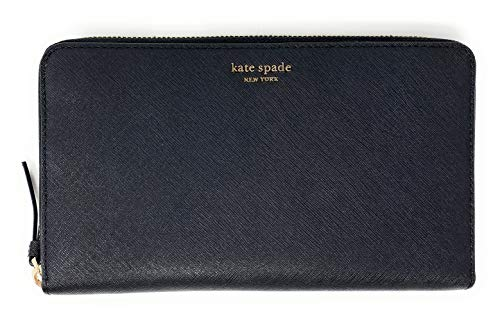 Kate Spade New York Women's Large Travel Wallet Cameron (Black)
