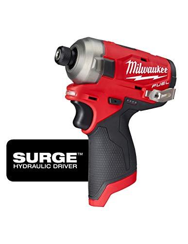 Driver de impacto MILWAUKEE M12 COMBUSTIBLE - SURGIDO -FQID-0 12 V - sin batería ni cargador 4933464972