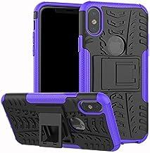 Fitted Cases - Shockproof Armor Protective Case For for ASUS zenfone 4 Selfie ZD553KL Live plus ZB553KL ZD553KL ZE554KL Stand Phone Back Case Cover (Purple For ZB553KL)