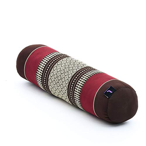 Leewadee – Yoga Bolster Kapok – 55 x 15 x 15 cm