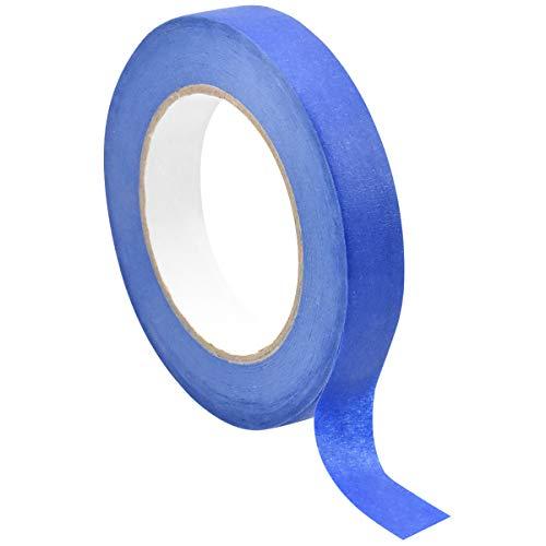 Nastro per Mascheratura Blu Nastro Adesivo Impermeabile Nastro Mascheratura Multi-superficie per Decorazione Interni ed Esterni Imbianchino Nastro 20mm*50m