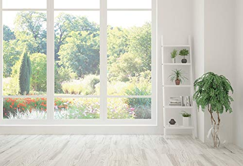 House Window Mural Wooden Wall Floor Interior Photo Background Photography Backdrops For Photo Studio A2 7x5ft/2.1x1.5m