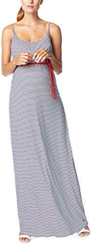 ESPRIT Maternity Damen E84271 Umstandskleid, Mehrfarbig (Royal Navy 488), 40 (Herstellergröße: L)