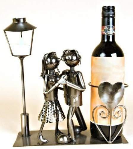Weinflaschenhalter, tanzendes Paar