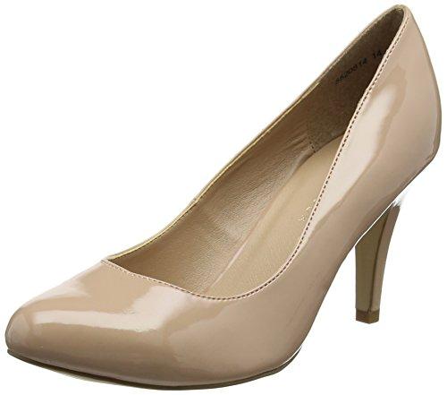 New Look Wide Foot Reanna, Damen Pumps, Beige (Oatmeal 14), 39 EU (6 UK)