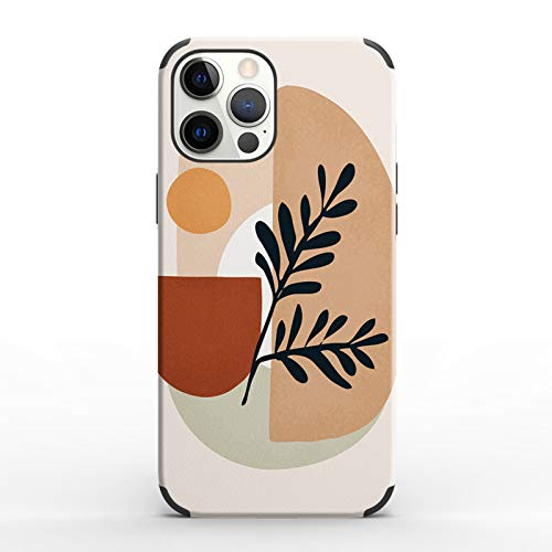 Suitable for Iphone X/XS/12 Mini/11Pro Max Phone Case, Durable Resin Bumper, Built-in 4 Anti-drop Airbags-shock Absorption, Abstract Artistic Pattern B-iphone12Pro