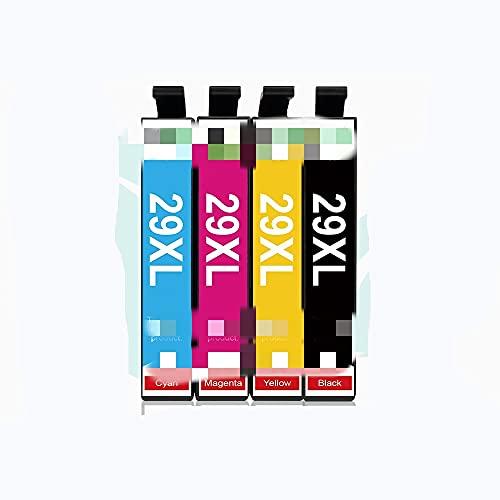 ESORST 4-10 PCS T2991XL T2991 para Cartuchos de Tinta 2 9XL XP235 XP 247 XP 245 XP 332 XP 335 XP 342 XP 345 XP 435 XP 432 Impresora (Color : 4 Pcs)