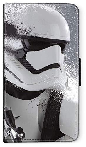 Flip Hülle Star Wars DUNKLE Macht kompatibel für Samsung Galaxy A20E Star Wars 12 Handy Hülle Leder Tasche Klapphülle Brieftasche Etui r& um Schutz Wallet M12