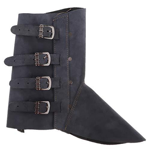 Polainas de Soldadura Protección Zapato Soldador Accesorio de Equipamiento Industrial - Azul