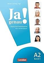 JA Genau!: Kurs- Und Ubungsbuch MIT Losungen Und CD A2 Band 1 (German Edition)