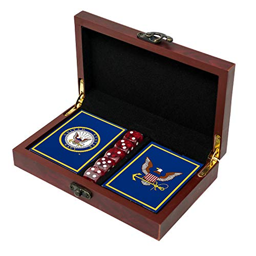 USN Navy Playing Cards with Dice - …