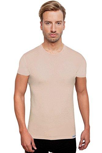Schaufenberger Casual Kurzarm-Unterhemd Haut O-Neck, Größe M
