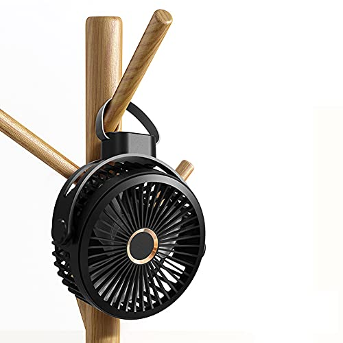 Ventilador De Techo, Mini Ventilador De Mano 10000Mah Ventilador De Mano Portátil Pequeño Ventilador 4 Velocidades Potente Potente Ventilador De Refrigeración Portátil Para Viajar Al Aire Libre,2