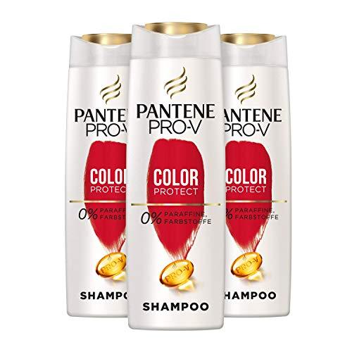 Pantene Pro-V Color Protect Shampoo, 3er Pack (3 x 500 ml), Schutz Für Gesund Aussehenden Glanz, Shampoo Damen, Haarpflege Glanz, Haarpflege, Coloriertes Haar,...