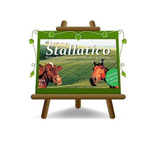 EURO PLANTS VIVAI Stallatico Naturale Fertilizzante Naturale in Pellet. Concime Organico consentito in Agricoltura Biologica.
