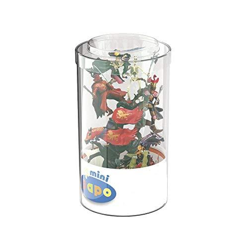 Papo 33013 Fantasy (Kunststoffbehälter, 12 Stück) Mini-Figuren, Mehrfarben