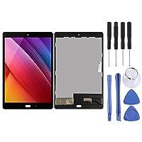 HDJ Asus Zenpad 3S Z500Mの LCDスクリーンとデジタイザーのフルアセンブリ(ブラック) (Color : Black)