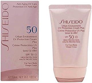 Shiseido Urban Environment UV Protection Cream Plus SPF 50 (For Face & Body) for Unisex, 50 ml