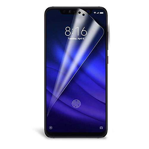 Película de Gel Xiaomi Mi 8 Pro Totalmente Transparente e Cobertura Total da Tela