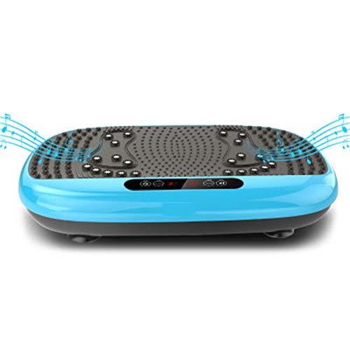 H-XH pedana Vibrante Professionale 4d ,Fitness Pedane Vibranti, con Altoparlante Bluetooth per Dimagrire E Tonificare Il Corpo, Carico Massimo 330 Libbre(Size:60 * 34 * 13.5CM,Color:02)