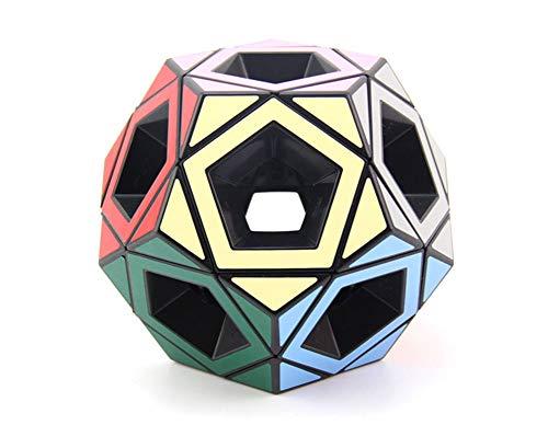 SYLL Hollow Five Rubik Cube Black Puzzle Alien Hollow Estudiante Adulto Descompresión...