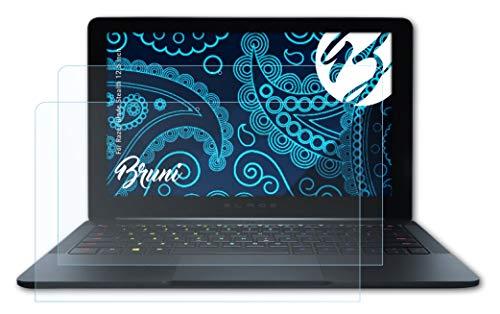 Bruni Schutzfolie kompatibel mit Razer Blade Stealth 12,5 inch Folie, glasklare Bildschirmschutzfolie (2X)