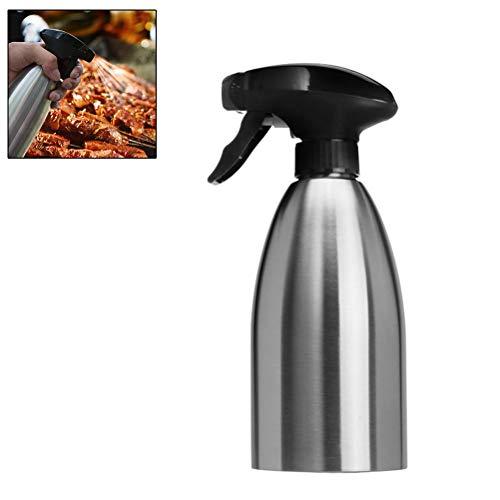 Spruzzatore per Olio in Acciaio Inox, 500 ml Facile da Pulire e da riempire per BBQ, Cucinare, Grigliare, Pasta, Insalata