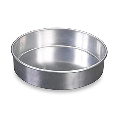 Nordic Ware 46900 Natural Aluminum Commercial Round Layer Cake Pan Baking Essentials, 9 , Silver
