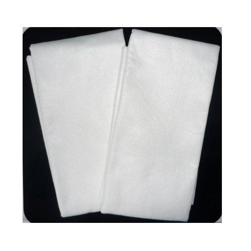 2 x Passiertuch Siebtuch Seihtuch 75x75 cm zuschneidbar aus reissfestem Vlies Durchseihtuch /