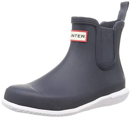 Hunter Original Chelsea Calendar Sole Boots Hunter Navy/White 6 M