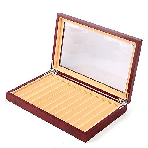 Caja portalápices caja portalápices caja portalápices expositor caja organizadora con ventana de...