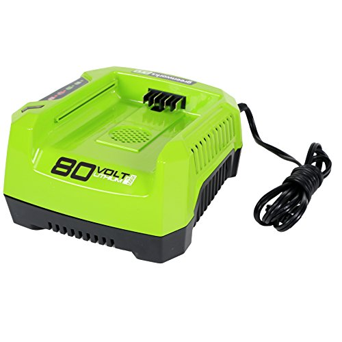 Greenworks PRO 80V Lithium Ion Single Port Rapid Battery Charger GCH8040