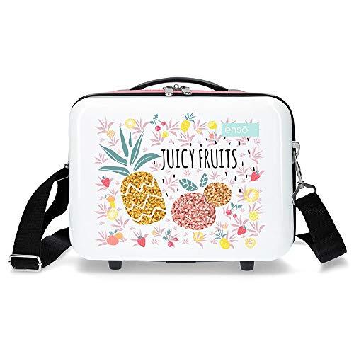 Enso Juicy Fruits Nececer Adaptable Multicolor 29x21x15 cms ABS