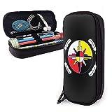 Portalápices de gran capacidad, portabolígrafos, gran almacenamiento, organizador de artículos escolares, oficina, colegio (música Panda), color Medicine Wheel talla única