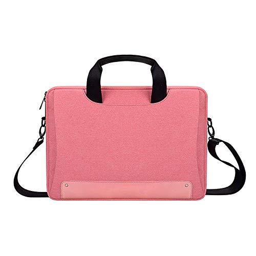 Shoulder Laptop Bag Computer Case Sleeve for 13 13.3 14 15 15.6 15.4 16 inch-Rose Red_for MacBook 16inch