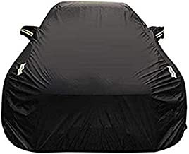 ZGYQGOO Car Cover Range Rover Velar Special Car Cover SUV Thick Oxford Cloth Sun Protection Rainproof Warm Cover Car Cover (Color : Silver, Size : Single Layer)