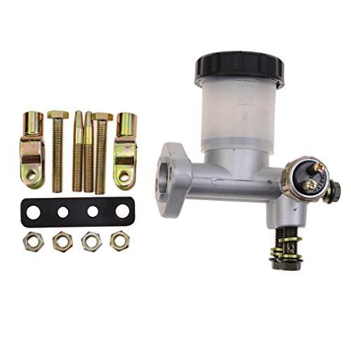 GOOFIT Hydraulisch Hauptbremszylinder Bremse Pumpe Ersatz für 90cc 110cc 125cc 150cc 200cc 250cc Go Kart Buggy Sunl BMS Kandi Roketa
