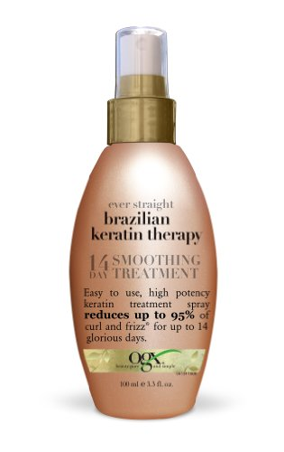 OGX Ever Straight Brazilian Keratin Therapy 14-Day Smoothing Treatment 3.3oz