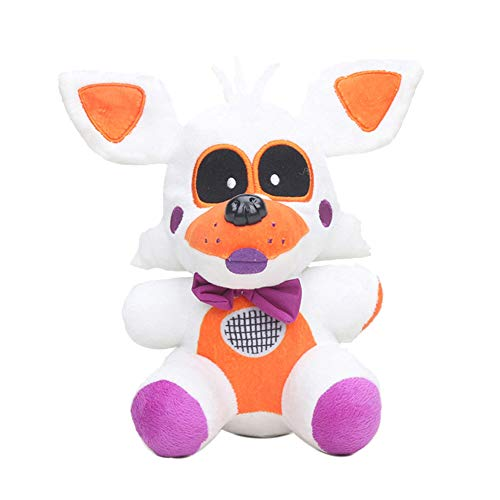 JIN Peluches de Peluche FNAF Lolbit Soft Dolls Game Character Lolbit Stuffed plushie Soft Pillow Cojín