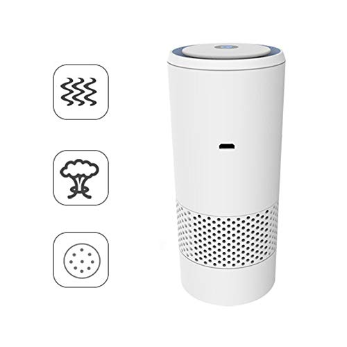 Best Prices! GOFEI Portable Car Air Purifier, for Bedroom/Home/Office, USB Low Noise Desktop Car Fil...
