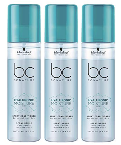 3er Schwarzkopf Professional Bonacure Hyaluronic Moisture Kick Conditioner 200 ml