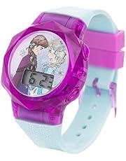 Disney Frozen Girls Digital Dial Display Flashing LED Wristwatch - SA7178 Frozen-C